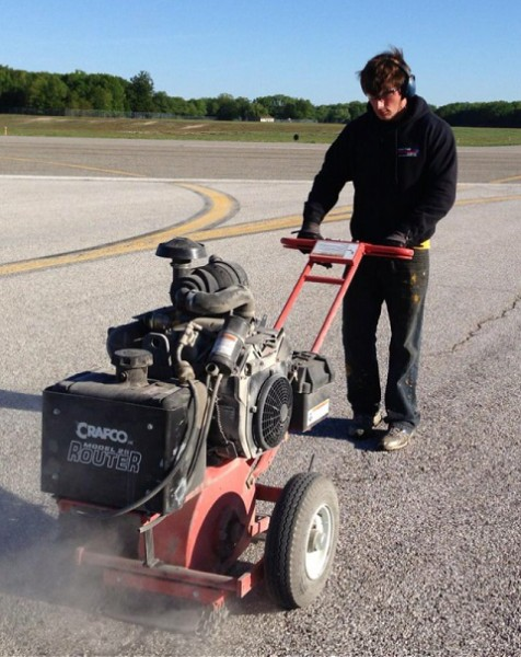 Airfield Crack Sealing Services